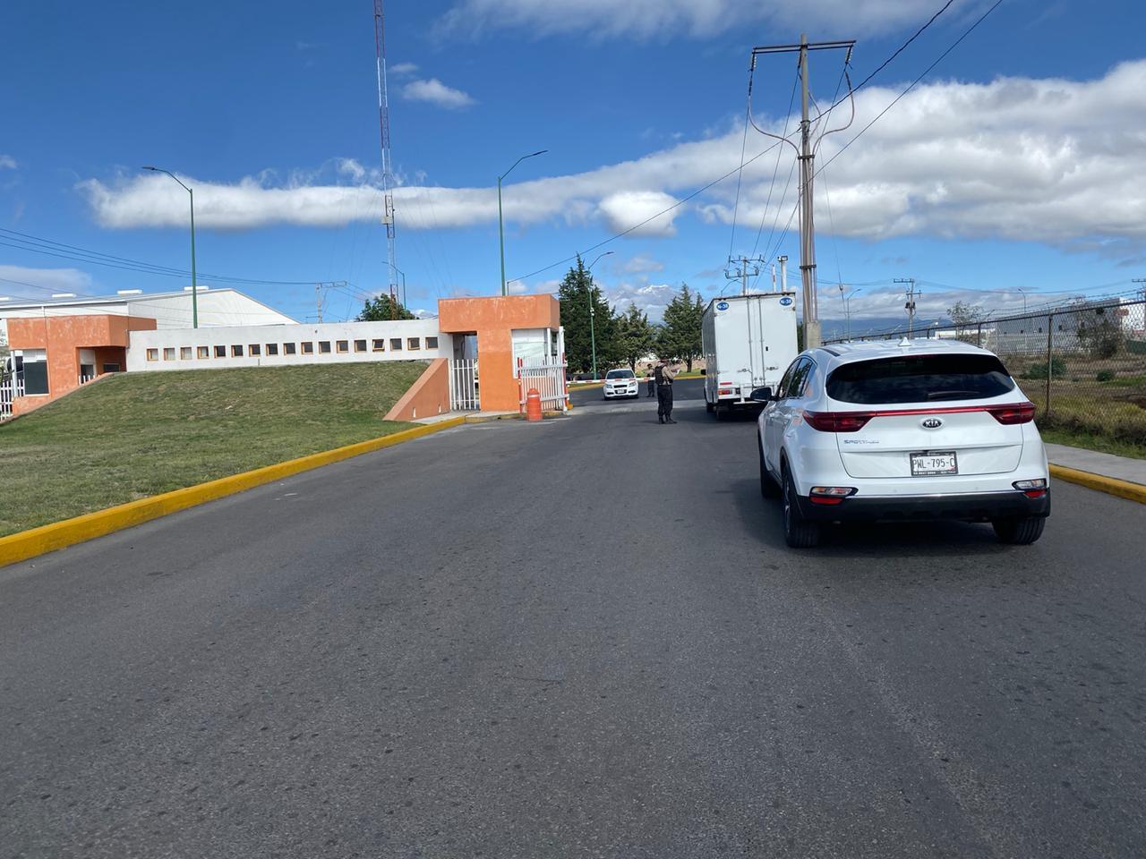 Reinician actividad en la zona industrial de Huejotzingo