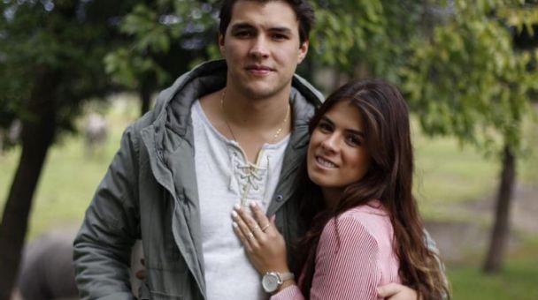 Paulina Peña y su novio Fernando Tena se comprometieron