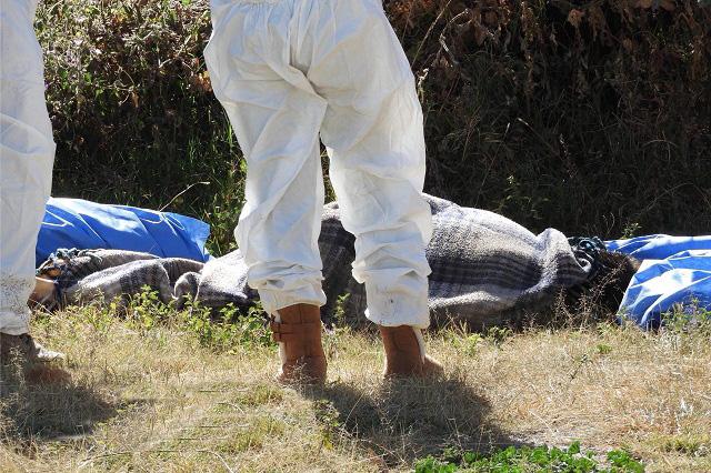 Hallan cuerpo encobijado y con huellas de tortura en Cholula