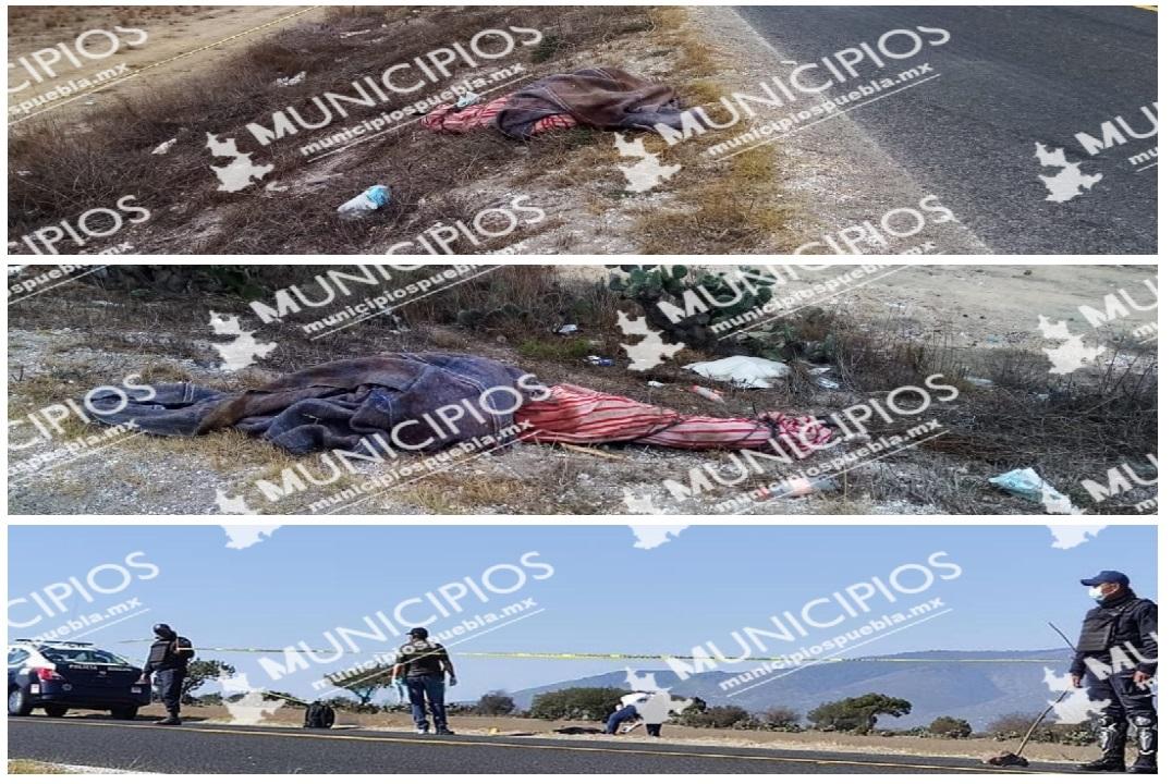 A orilla de carretera, tiran a persona sin vida en Cañada Morelos