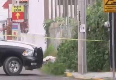 VIDEO Dejan encobijado en avenida Gavilanes de Xilotzingo