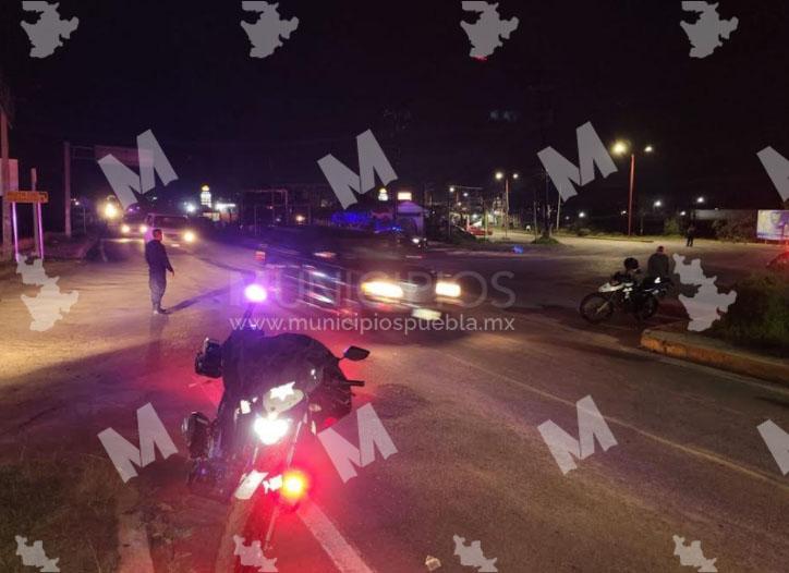 Se registra conato de enfrentamiento entre tianguistas y autoridades en Texmelucan