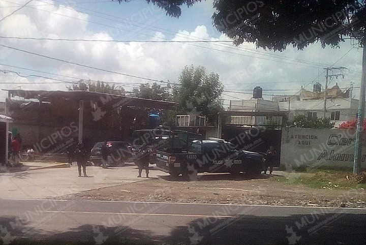 Se registra ataque contra federales en Texmelucan