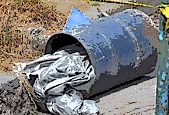 Encuentran cadáver entambado en Acatlán de Osorio
