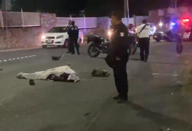 Un motociclista muerto y 5 heridos dejan choques en Puebla
