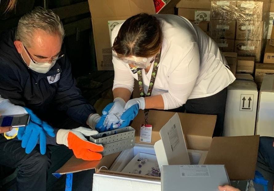 Suma Puebla 51 mil 500 casos Covid; alistan vacunas a personal de salud