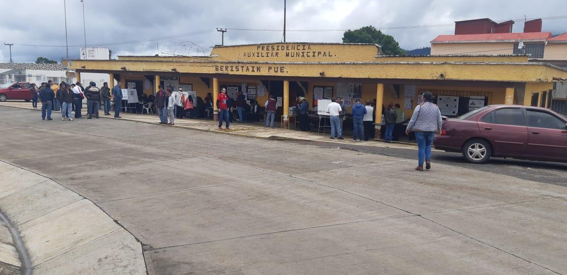 Ratifican triunfo del PRI en Ahuazotepec pese a violencia del 2 de junio