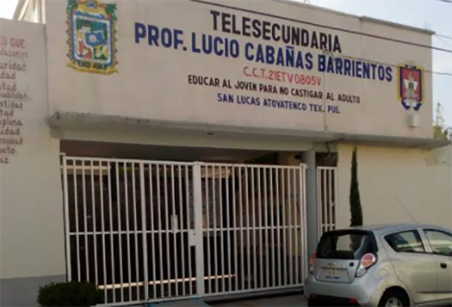 Saquean escuela en San Martín Texmelucan