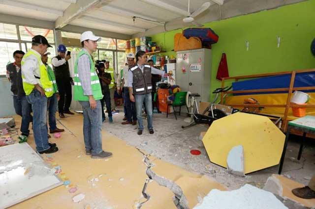 Entregará AMLO 328 mdp para rehabilitar escuelas en Puebla