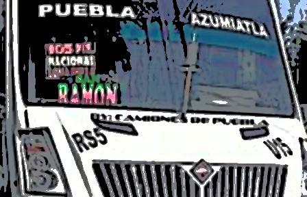 Atracan ruta S-5 en Puebla capital