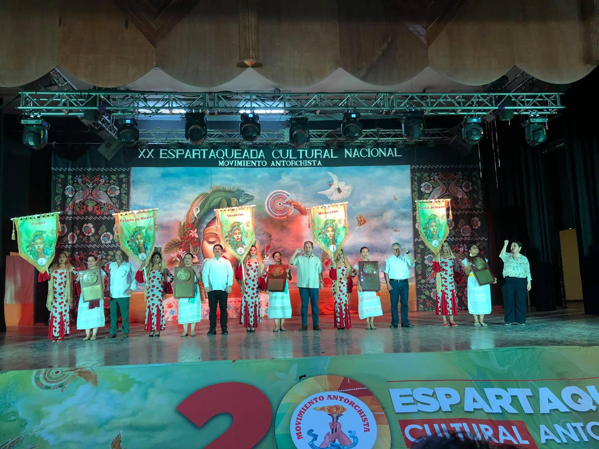 Inicia Espartaqueada Cultural 35 años de sembrar arte