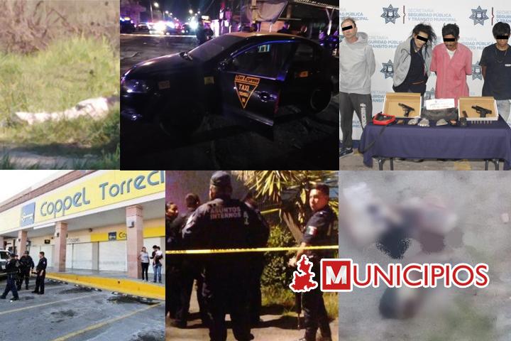 Más robos y embolsados esta semana en la capital poblana
