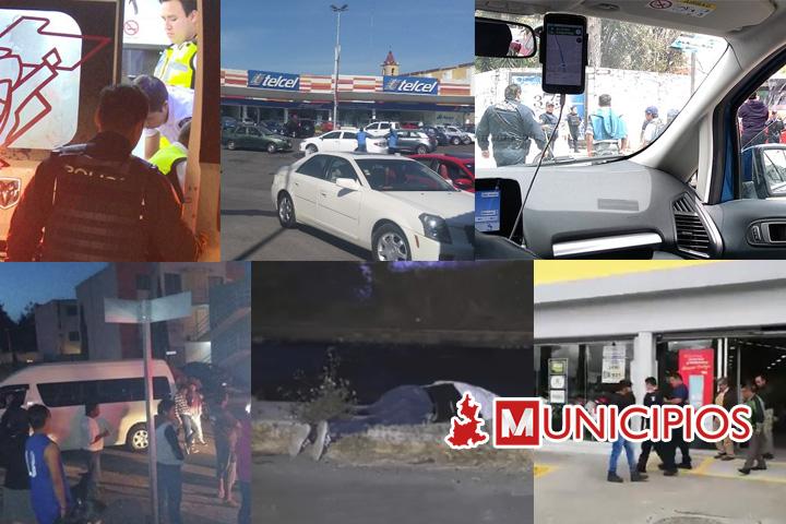 Asaltos a transporte sobresalieron esta semana en la capital