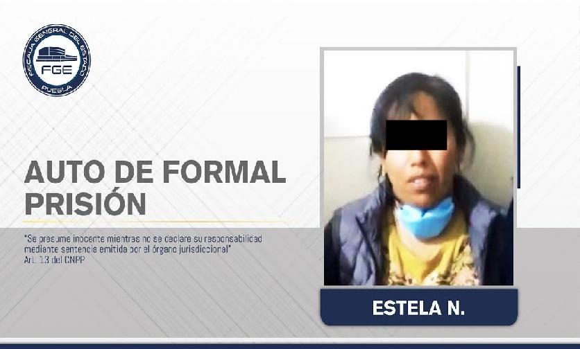 Tras discusión Estela mató a su esposo en Xiutetelco