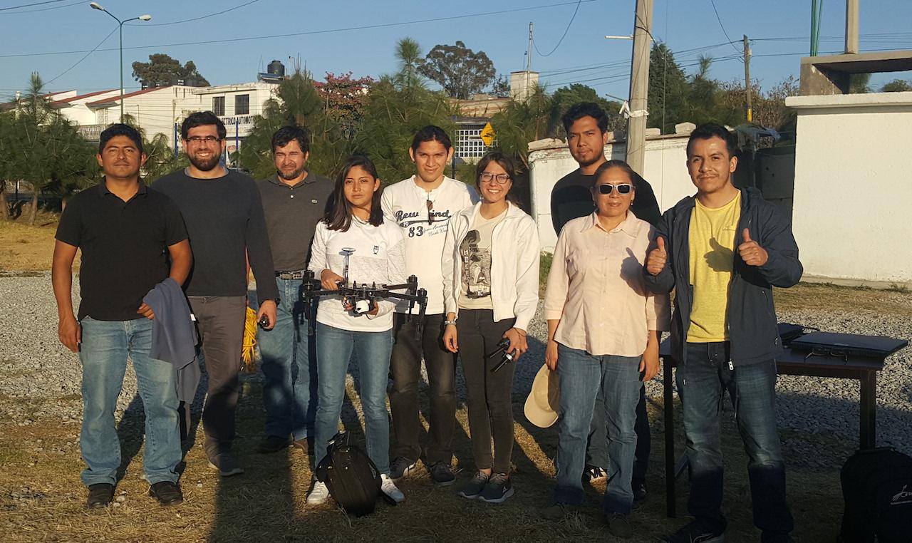 INAOE desarrolla software para obtener fotos utilizando drones