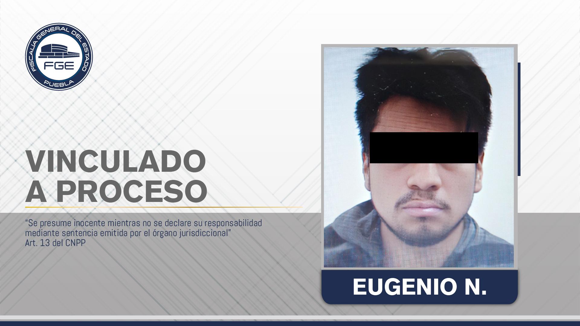 Mandan a la cárcel a Eugenio por acuchillar a su hermano en San Andrés Cholula