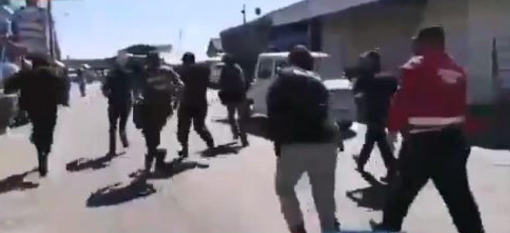 VIDEO Paciente con Covid-19 se fuga de hospital y la arrestan