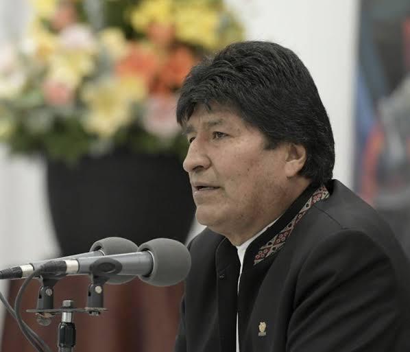 Evo Morales regresó a México por Veracruz y bajó en Puebla