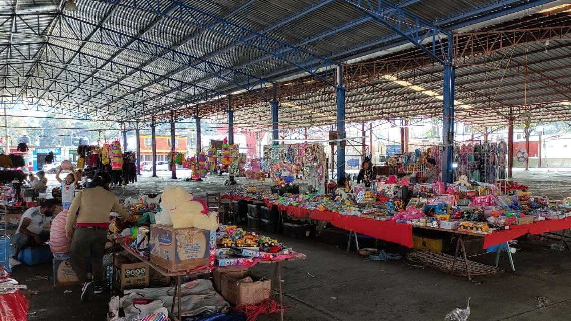 Bajan ventas de juguetes 70% en Huauchinango por decreto estatal