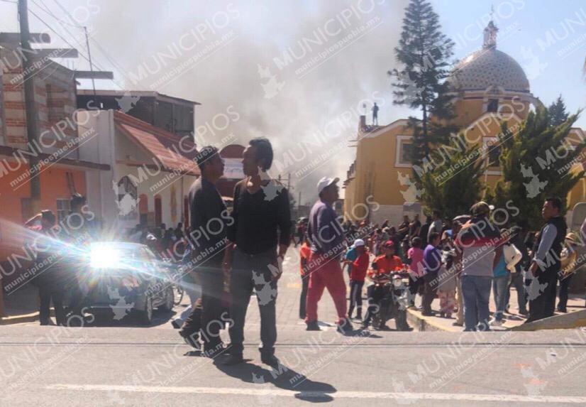 Explosión de polvorín cimbra viviendas en Tepeaca