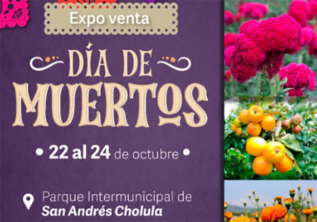 Invitan a la Expo Venta de Día de Muertos en San Andrés Cholula