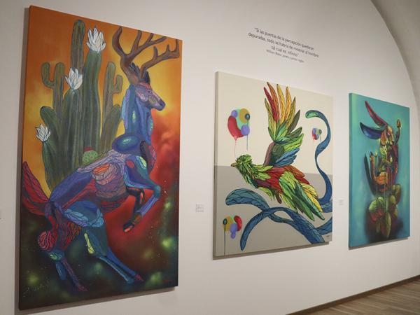 En San Pedro Museo de Arte inauguran la exposición Psicodelia Animal