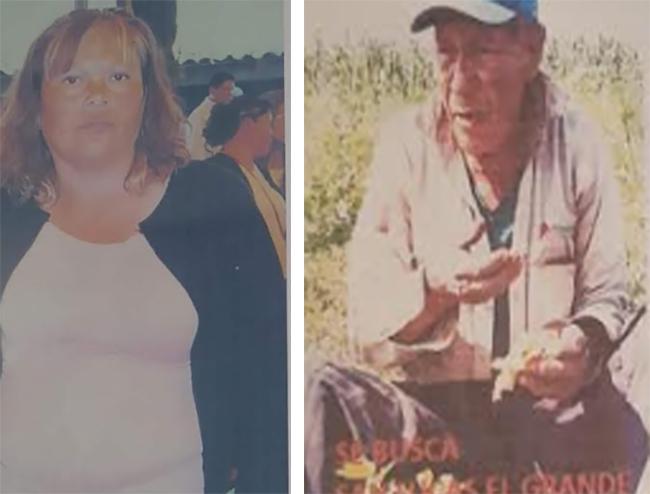 Buscan a Lauro y María Cristina; desaparecieron en el Verde