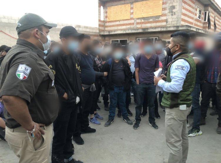 Abandonan a migrantes centroamericanos en San Pablo del Monte, Tlaxcala