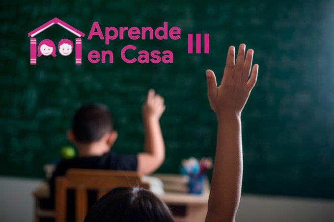 Aprende en casa III: horarios de las clases de la SEP