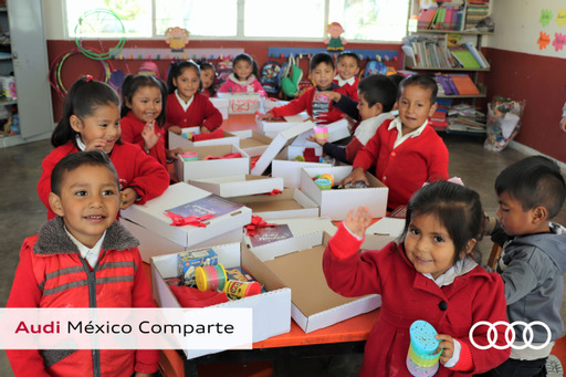 Para Audi México, la Ciudadanía Corporativa es el compromiso social