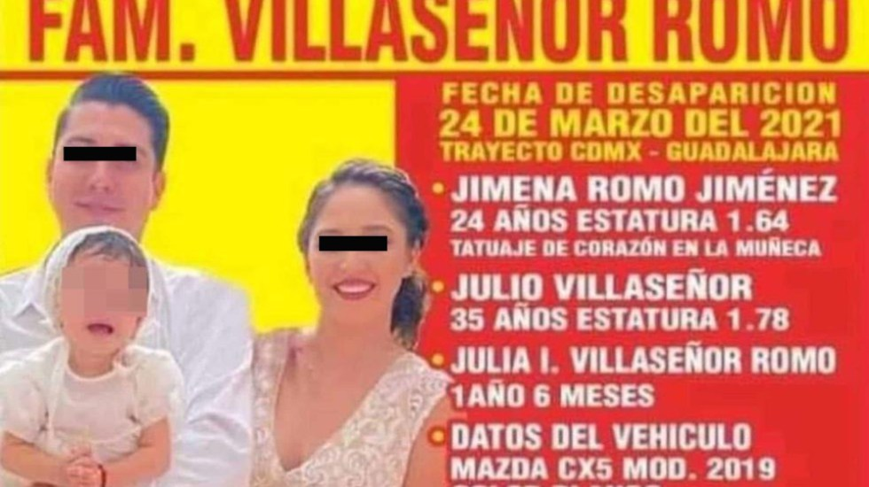Con vida localizan por fin a familia desaparecida en Jalisco