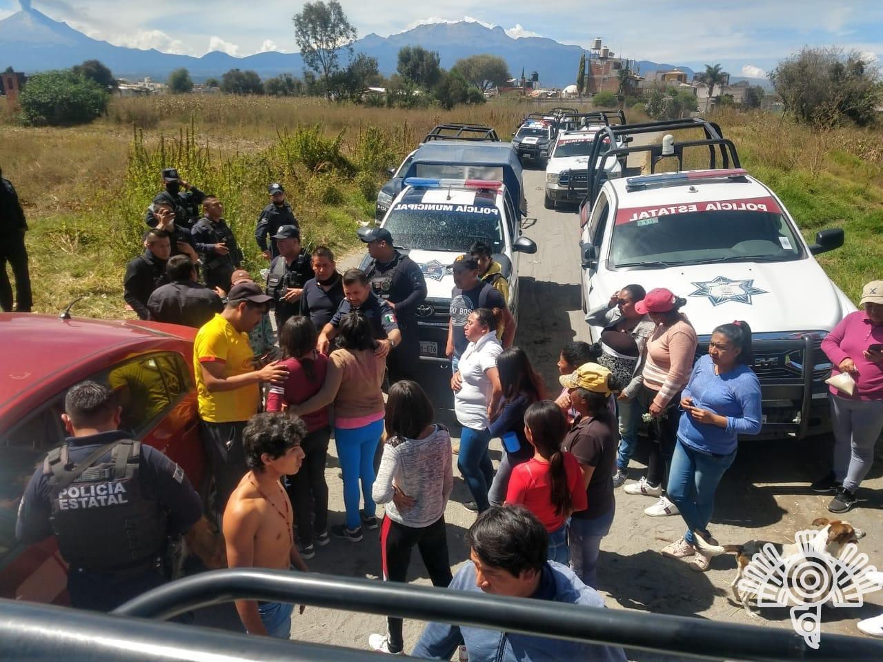 Así fue el intento de secuestro de una familia en Huejotzingo