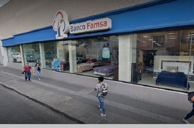 Alertan de fraudes a clientes de Banco Famsa