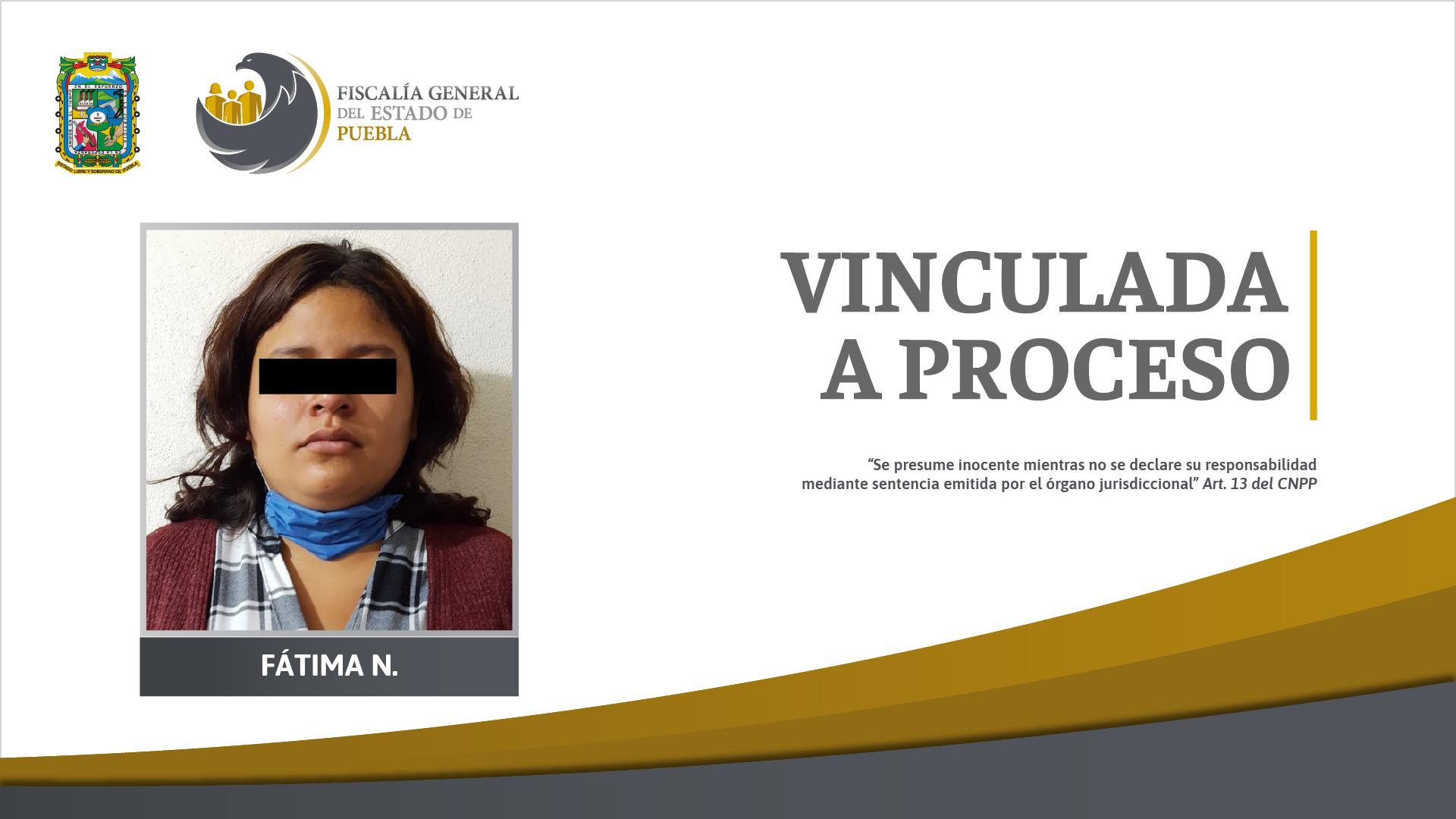 Por agredir a su hija de 6 años en Teziutlán mandan a la cárcel a Fátima