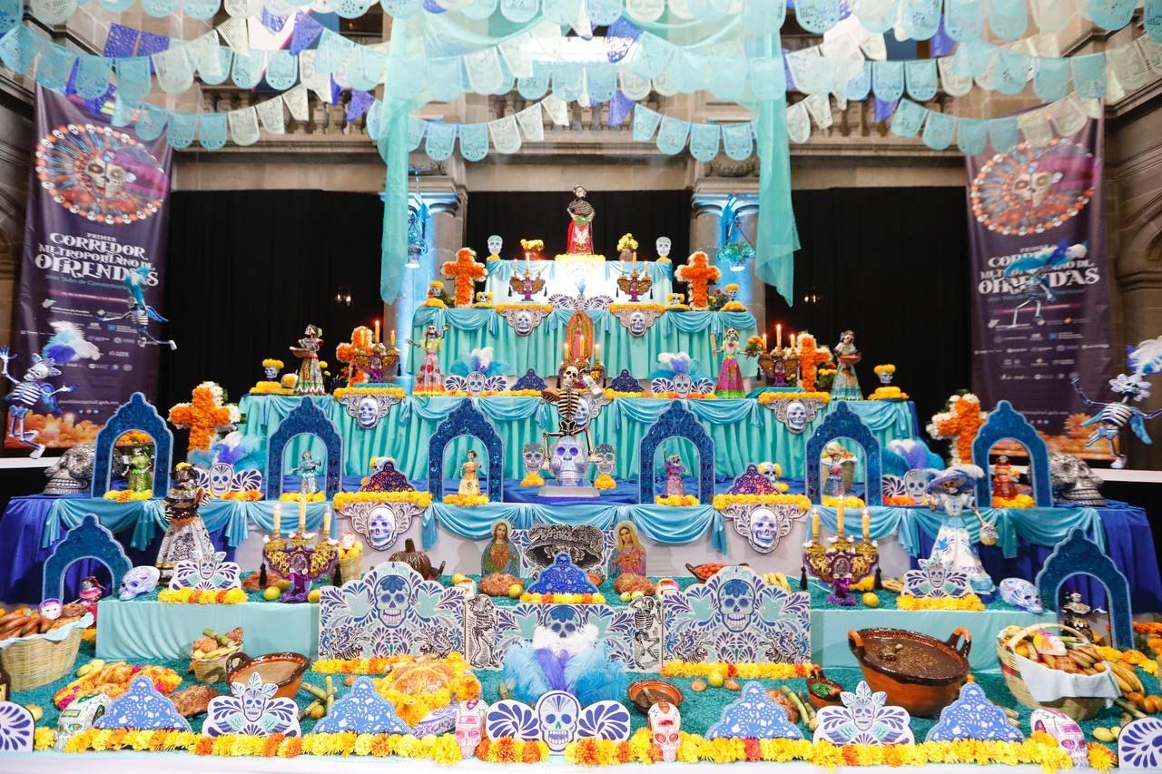 Estos son los 25 altares del Corredores de Ofrendas Metropolitano
