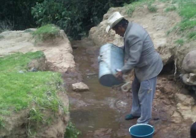Dejan sin agua a comunidad de Tlahuapan, quieren imponer cuota