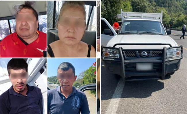 Confiscan más de mil 700 dosis de marihuana en Huauchinango