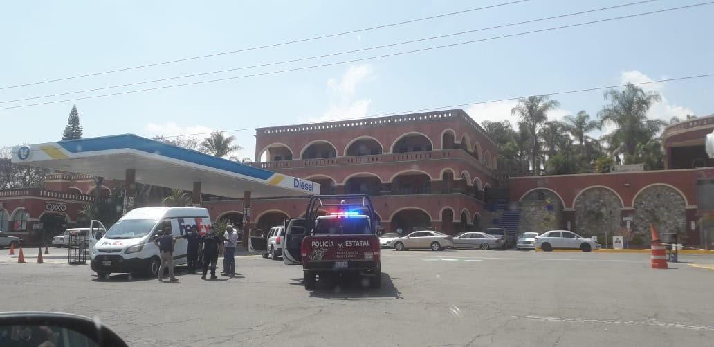 Municipales frustran asalto a paquetería FedEx en Atlixco