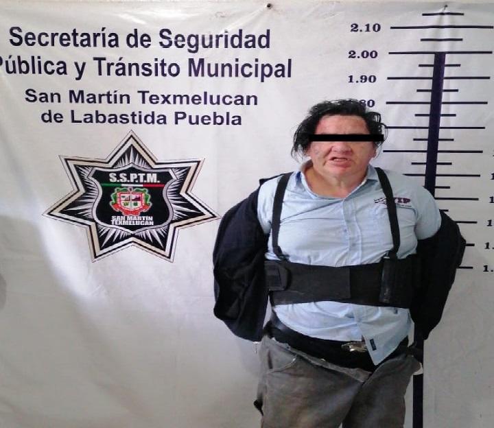 Así fue la detención de Félix, acusado de asesinar a sus familiares en Texmelucan