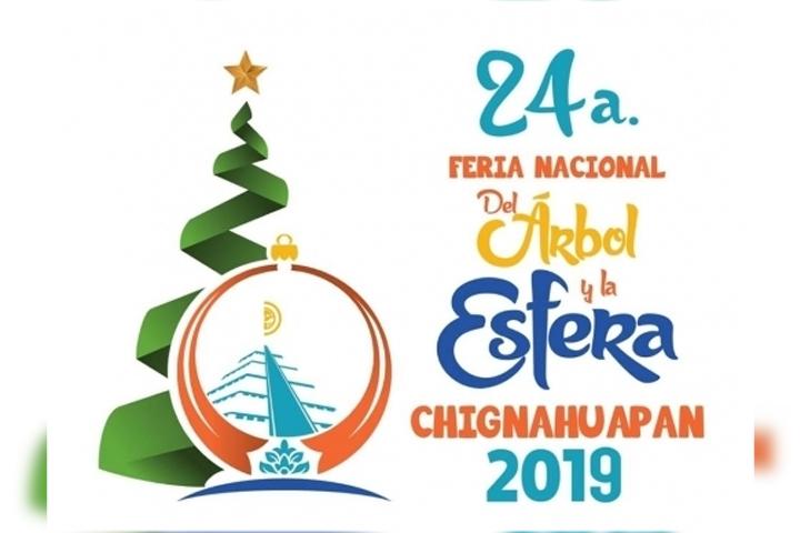 Se adelanta la navidad en Chignahuapan con la feria del árbol y la esfera