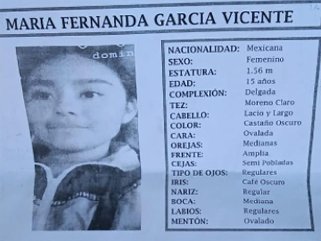 Desaparece María Fernanda en la colonia Santa Lucía, Puebla