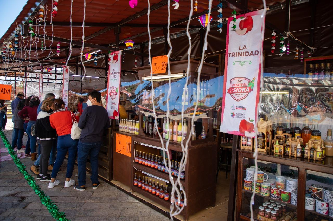 Festival de la Sidra reactiva economía de Zacatlán