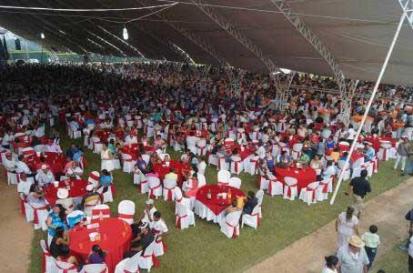 Exedil poblano organiza fiesta para celebrar el fin del Covid-19