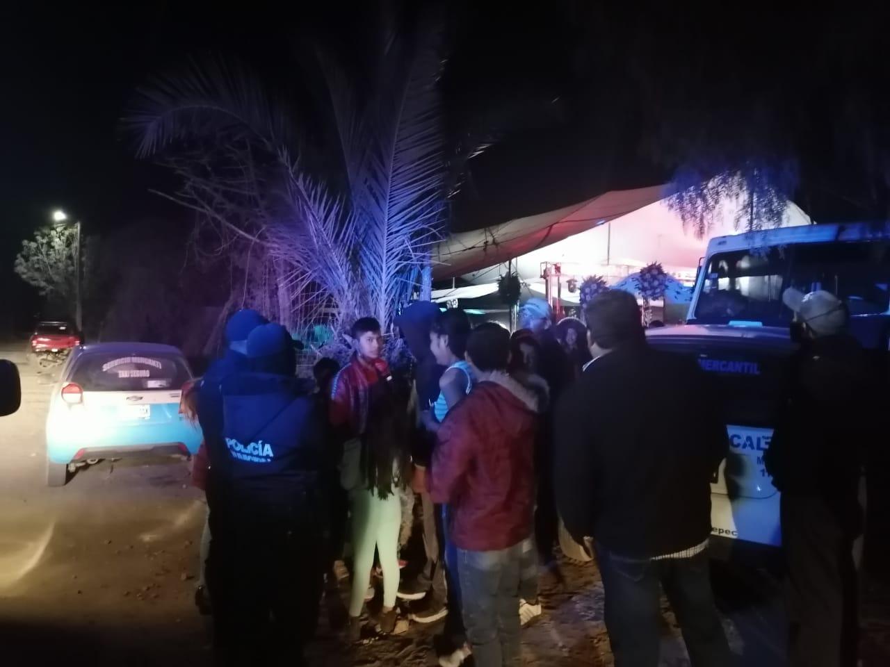 Policía suspende fiestas en Quecholac por riesgo de Covid