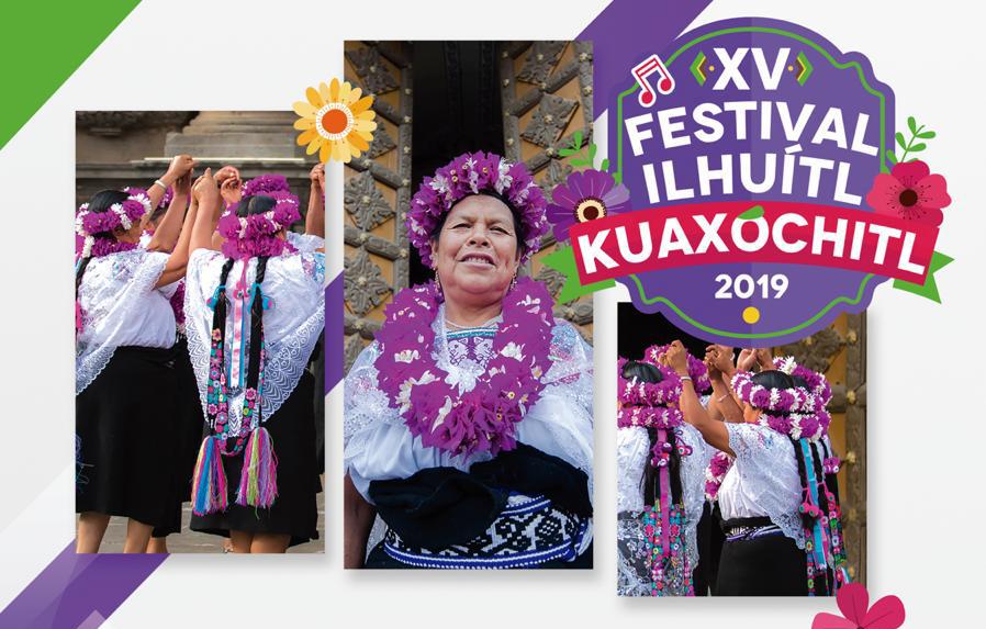 Todo listo para la Fiesta de la Corona de Flores en Zacatlán