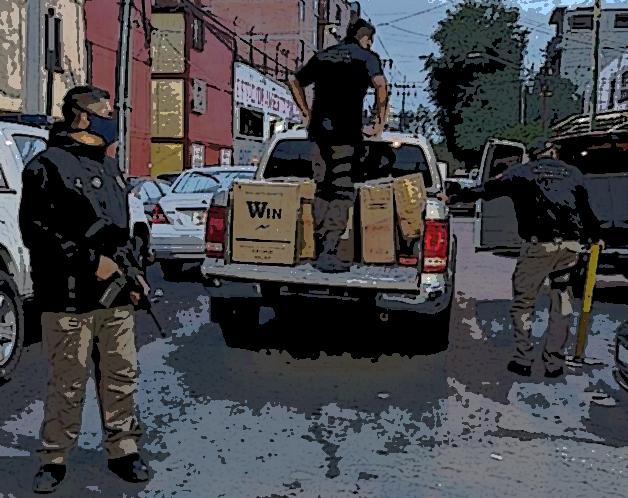 FGR catea bodegas en las colonias Satélite Magisterial y Santa María en Puebla