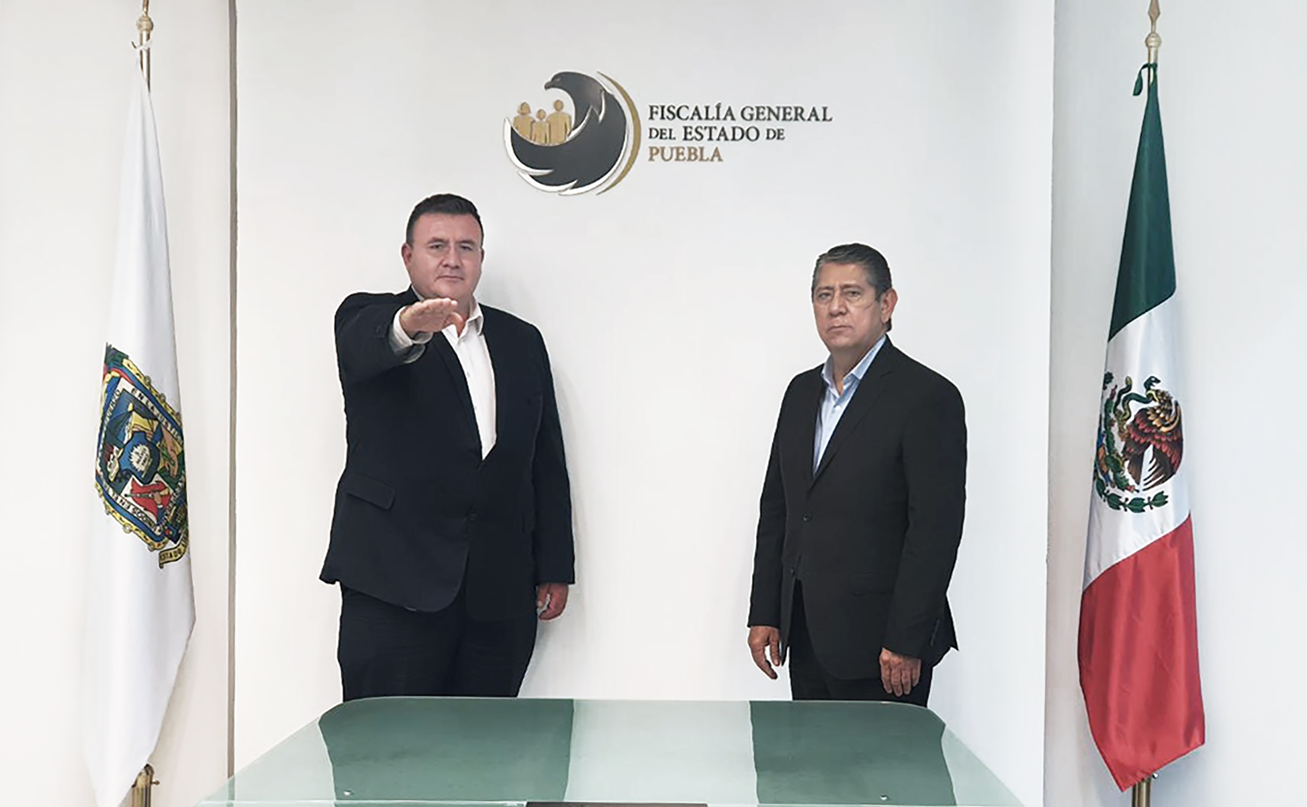 Designa Gilberto Higuera a fiscales especializados en Puebla