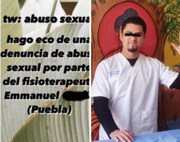 Joven acusa a fisioterapeuta de Angelópolis de abuso sexual