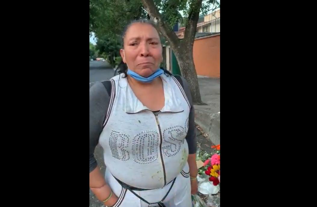 VIDEO Arrestan a vendedora de flores y dejan sin comer a sus hijos