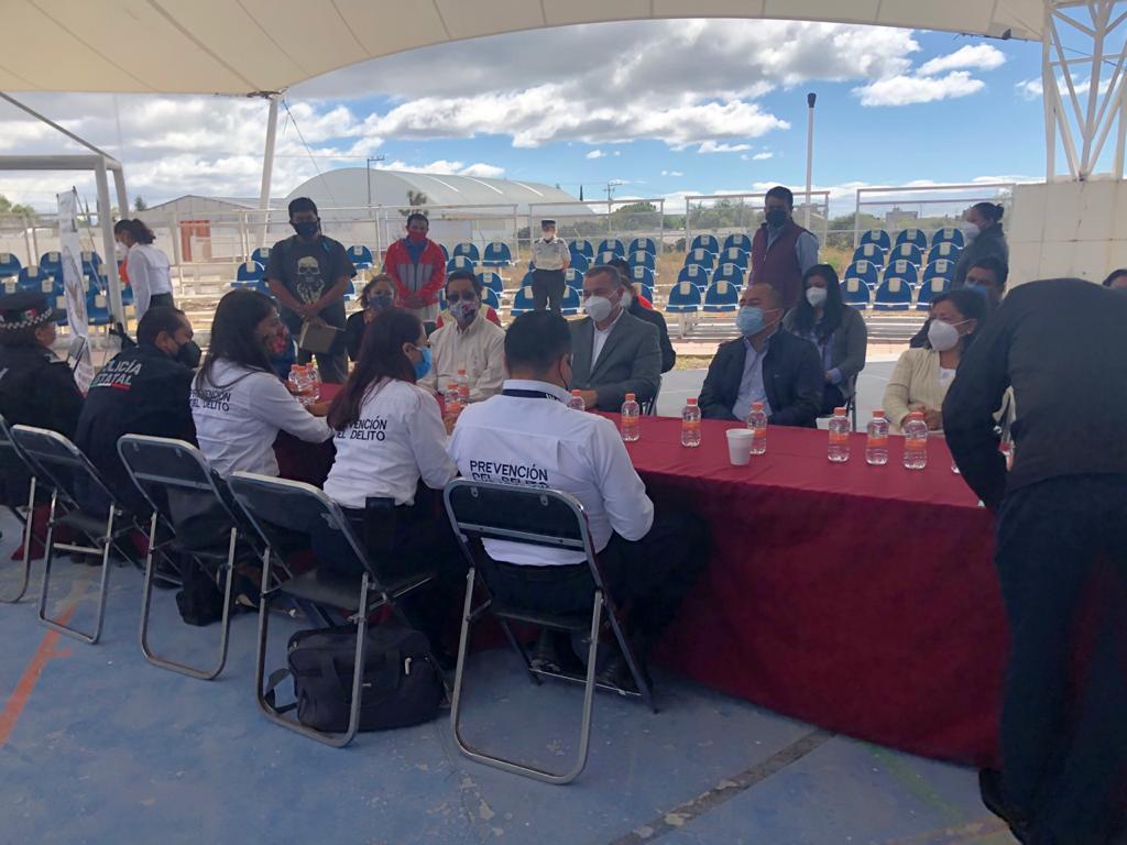 Fomenta SEGOB la cooperación y cultura de la legalidad en Puebla